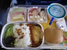 Royal Brunei economy meal.