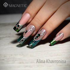 Beautiful Nails with PowerGel by Alina Khavronina #stunningnails #nails #nailinspiration #nailsoftheday