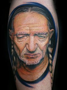 Nelson tattoo by Silvano Fiato | INK | Pinterest | Willie Nelson ...