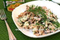 Грибная закуска с плавленным сырком. Закуски с грибами рецепт