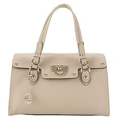 DKNY Beige Heritage Shoulder Bag
