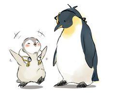 """""""ペンギンみかちゅる(´∀`)"""""""