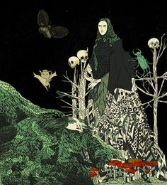 """Baba Yaga"" by Tin Can Forest (Marek Colek and Pat Shewchuk)"