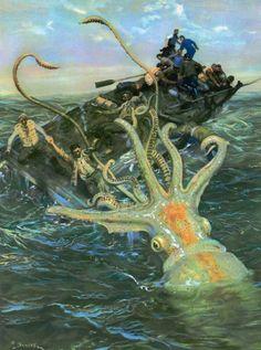 Burian, Zdeněk (b,1905)- Everyone Hates Cephalopods