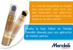 Necesitas una base para perfeccionar tu maquillaje, en Tiendas Mendel`s te ofrecemos lo mejor, Base Milani.