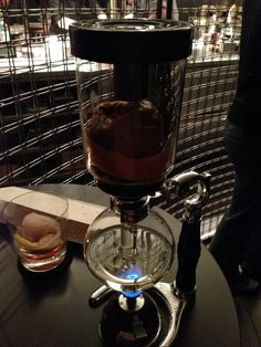 Baked Apple (in siphon) at The Aviary in Chicago, IL