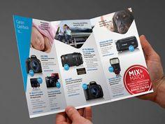 Leaflet design for Canon's Summer Cashback campaign