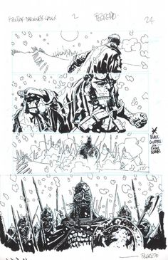 Splash Page Comic Art :: For Sale Artwork :: Hellboy Darkness Calls by artist Duncan Fegredo