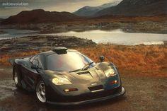Late 90's McLaren F1 GT.