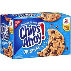 About this item Nabisco Chips Ahoy! Original Real Chocolate Chip Cookies are the world's favorite chocolate chip cookies packed with chocolate chips baked into every bite. Specifications - Nabisco Chi