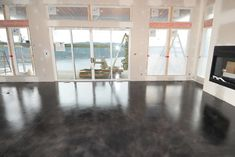 Stained Concrete Floors Floors Pinterest Stained concrete