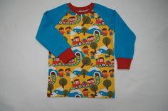 """T-Shirts - Jungenshirt """"Unterwegs"""" Wunschgröße - ein Designerstück von GreJaLo bei DaWanda"""