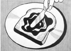 Roy Lichtenstein, Bread and Jam, 1963
