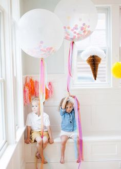 { Ice Cream Party ideas from Goldfinch Events | Photos by Jeremiah and Rachel | 100 Layer Cakelet }