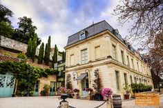 Chateau des Bidaudieres in Vouvray France - An elegant 15th century property, entirely renovated in 1996