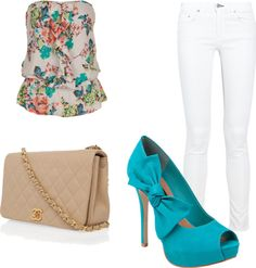 """""""Flirty summer outfit"""" by liandivw7 on Polyvore"""