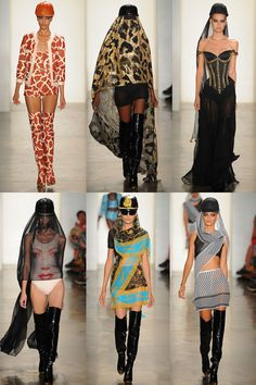 FASHION FOR THE BRAVE AT JEREMY SCOTT  2013