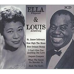 Ella Fitzgerald & Louis Armstrong ......Uploaded By  www.1stand2ndtimearound.etsy.com