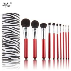 10 pcs Synthetic Makeup Brushes High Quality Make Up Brushes