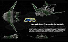 Kestrel atmospheric shuttle ortho by unusualsuspex