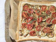 My Holiday Dish _Sun-Dried Tomato Mediterranean Tart Recipe