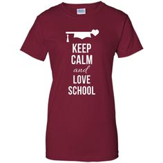 Keep Calm and Love School T-shirt