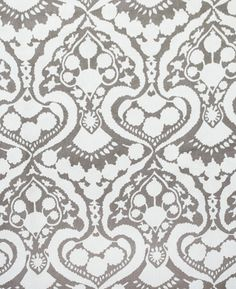CURTAIN FABRIC: $27/yd Arabesque Handprint, Fog.  I'm really loving this, for panels for for additional pillows.