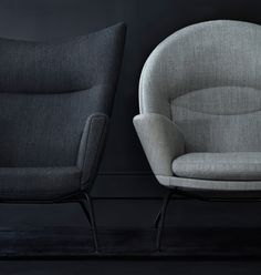 High Quality Carl Hansen U0026 Søn Adds Black Frame To Hans J Wegner Lounge Chairs. Sofa  ChairWing ... Amazing Pictures