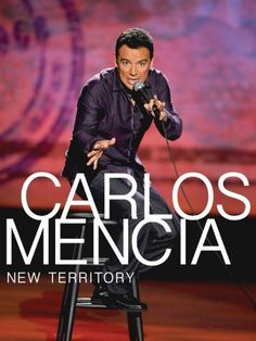 Watch Carlos Mencia New Territory Online. Carlos Mencia is back with his extended and uncensored full-length special, New Territory. This is Carlos like you've never seen him before, but he still gives you the bold opinions and . Carlos Mencia, New Territories, Cover Pics, Cover Picture, People Laughing, Comedy Central, Prime Video, Music Albums, The Book