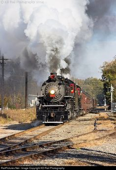 RailPictures.Net Photo: SOU 4501 Southern Railway Steam 2-8-2 at Chattanooga, Tennessee by KD Rail Photography