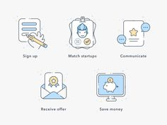 Hey guys! How's your week going? I'd love being vacationing somewhere, but work is work :) So, sharing my new shot with you, a set of icons I created for a website recently.  If you want to see how...