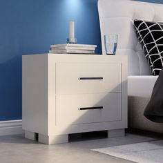 Found it at AllModern - 2 Drawer Nightstand