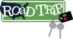 Road Trip SVG scrapbook title vacation svg files road trip