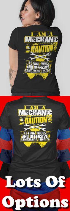 Mechanic Shirt: Are You A Mechanic? Wear Funny Mechanic Shirts? Great Mechanics Gift! Lots Of Sizes & Colors. Like Mechanic Shirts? Strict Limit Of 5 Shirts! Treat Yourself & Click Now! https://teespring.com/PG73-989