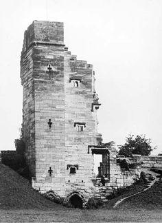 North Tower, Tutbury Castle