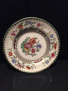Decorative Arts Hot Sale Antique French Gien 7 Gien Opaque Porcelain,circa 1900,model With Flowers A Wide Selection Of Colours And Designs