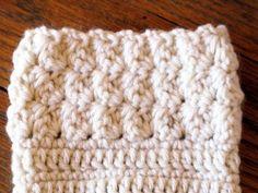 Ripple Stitch free crochet boot cuff pattern by ELK Studio
