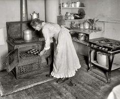 1917  baking....Washington DC