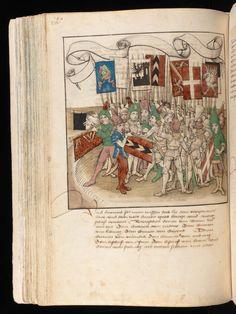 Bern, Burgerbibliothek / Mss.h.h.I.16 – Diebold Schilling, Spiezer Chronik / p. 230