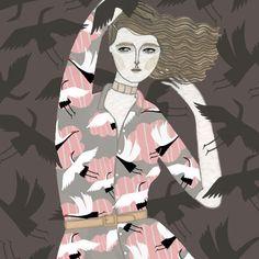 illustratedladies:  Yelena Bryksenkova.