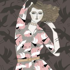 Holly Fulton S/S 2014 by Yelena Bryksenkova.