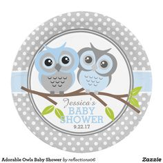 Adorable Owls Baby Shower