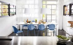 BASIL stackable chair, in mixed materials - Calligaris CS/1359-A