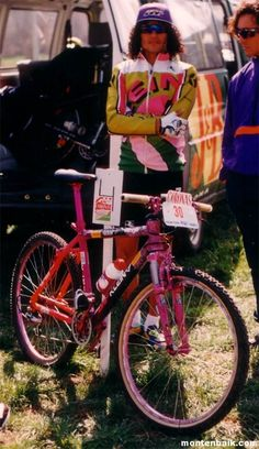 Drums roll please.here's the 1993 Klein Adroit Team Storm built as a Tinker Juarez Race Replica ! The Goal: The Outcome: This bike is built up with Mtb, Mt Bike, Retro Bike, Cycle Chic, Bicycle Girl, Bike Art, Vintage Bikes, Road Bikes, Courses