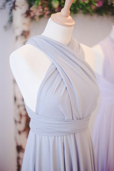 Dusty blue bridesmaid dress  he new Tulle Collection by twobirds Bridesmaid collection via @blovedblog