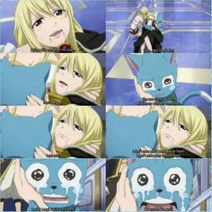 Future Lucy and Happy <3 ...I have tears in my eyes from remembering that scene...Happy isn't happy...