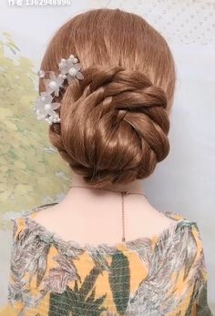Amazing hairstyle ideas that you will love! Easy And Beautiful Hairstyles, Bun Hairstyles For Long Hair, Creative Hairstyles, Braided Hairstyles, Wedding Hairstyles, Hairstyle Ideas, Hairstyle Tutorials, Barbie Hairstyle, Bridal Hair Buns