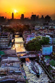 Bangkok Sunrise #SandorCity Contest: Bangkok #TravelBrilliantly