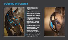 The Light Mask  Blue Light Therapy to assist in equine reproduction management.  From the breeding barn to the show ring, everything is truly better with blue.  #equilume