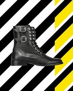 Spic(k)e up your life! ⚡ #rockstyle #readytorock #spikeupyourlife #wearechanging #eurekashoes #madeinportugal #handmadeshoes #fashionisfun #stylegoals #localhandmade #black #yellow